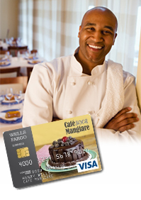 Business -- Customize the design of your card to showcase your business. Get Started